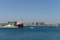In the harbor in Torrevieja Royalty Free Stock Photography