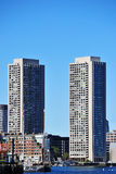 Harbor Towers in Boston Royalty Free Stock Images