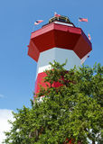 Harbor Town Lighthouse. In Hilton Head, SC, USA Stock Photos
