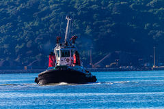 Harbor Tug Ship Docking Stock Photos