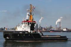 Harbor tugboat Stock Photography