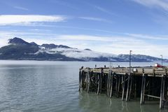 Harbor in Valdez Stock Photography