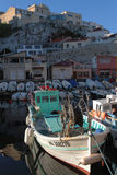 Harbor of The Vallon des Auffes Stock Image