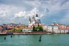 Harbor in Venice, Italy Royalty Free Stock Photo