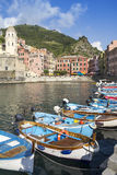 Harbor in Vernazza Royalty Free Stock Image