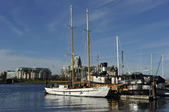 Harbor of Victoria, British Columbia, Canada Stock Photos