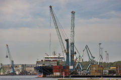 Harbor View Stock Photography