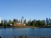 Harbor View in Vancouver Stock Image