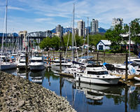 Harbor View of Vancouver Stock Images
