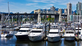Harbor View of Vancouver Royalty Free Stock Photography