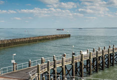 Harbor of Vlissingen, Netherlands Royalty Free Stock Image