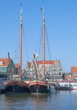 Volendam, Ijsselmeer, Netherlands Royalty Free Stock Images