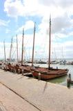 The Harbor of Volendam. The Netherlands. Stock Image