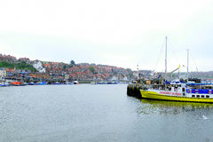 Harbor, Whitby, Yorkshire. Royalty Free Stock Images