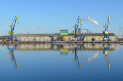 Harbor of Wismar, Baltic Sea, Germany Stock Image
