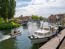 Free Harbor With Boats In Brielle, Netherlands Royalty Free Stock Image - 93587376