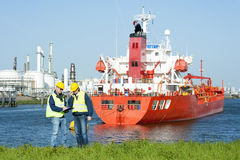 Harbor Workers Stock Photos