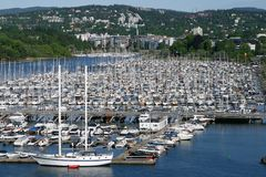 Harbor for Yachts Royalty Free Stock Photos
