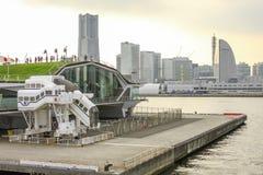 Harbor in Yokohama Japan. Royalty Free Stock Photography