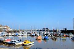 Harborand marina, Bridlington, Yorkshire Royaltyfri Bild