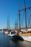 Harborfront i Oslo Norge Royaltyfria Foton