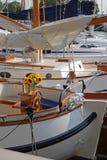 harborharbor风船 库存照片