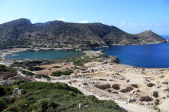 Harbors and ruins Royalty Free Stock Photo