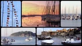 Harbors stock video footage