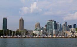 Harbors in Toronto Royalty Free Stock Photography