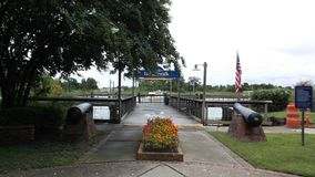 Harborwalk Georgetown South Carolina EUA imagem de stock