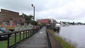 Harborwalk Georgetown South Carolina USA lizenzfreie stockfotos
