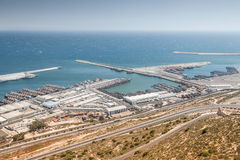 Harbour of Agadir, Morocco Royalty Free Stock Photo