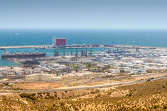 Harbour of Agadir, Morocco Stock Images