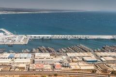 Harbour of Agadir, Morocco Royalty Free Stock Photos