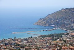 Harbour in Alanya, Turkey Stock Images