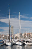 Harbour of Alicante, Spain Stock Image