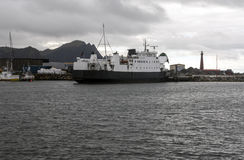 Harbour of Andenes Stock Photo