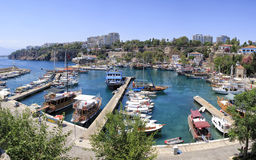 Harbour of Antalya Stock Images