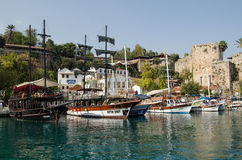 Harbour, Antalya, Turkey Royalty Free Stock Photo