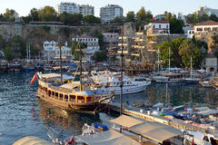 Harbour of Antalya, Turkey Royalty Free Stock Image