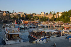 Harbour of Antalya, Turkey Stock Photo
