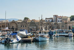 Harbour at Arsenali Chania Crete Royalty Free Stock Photo