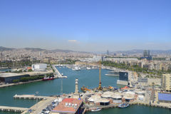 Harbour Barcelona royalty free stock photos