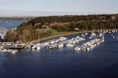 Harbour Bay. Boats, Yachts - Sydney, Australia royalty free stock photo