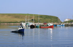 Harbour at Bay St. Lawrence Stock Photography