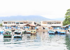 Harbour in Bitung Royalty Free Stock Photography