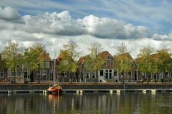 Harbour of blokzijl Royalty Free Stock Images