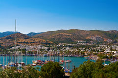 Harbour In Bodrum Royalty Free Stock Image