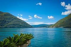 Harbour at Boka Kotor bay Boka Kotorska, Montenegro, Europe royalty free stock photos