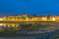 Harbour at Bretagne, France Royalty Free Stock Image